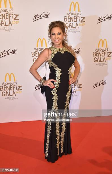 Carmen Geiss during the McDonald's charity gala at Hotel Bayerischer Hof on November 10 2017 in Munich Germany