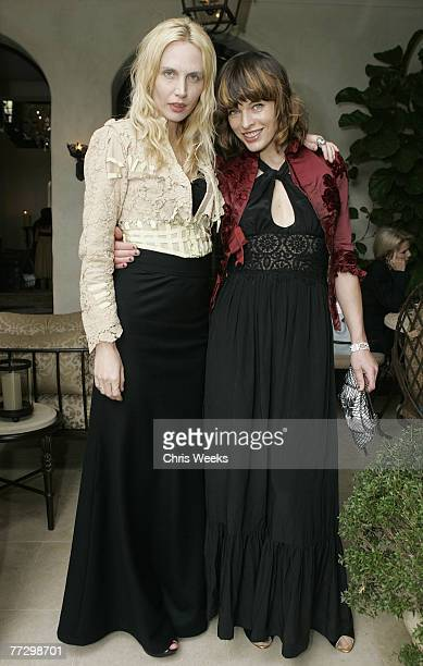 Carmen Hawk and Milla Jovovich