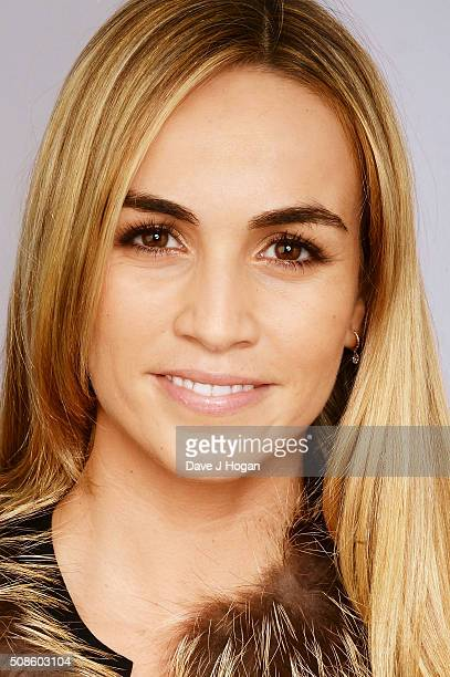 Carmen Jorda attends the F1 Zoom Auction in aid of the renowned Great Ormond Street Hospital at InterContinental Park Lane Hotel on February 5 2016...