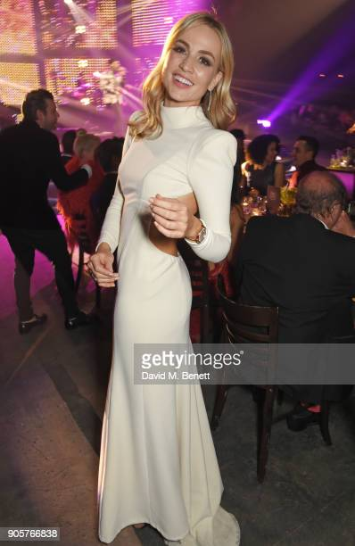 Carmen Jorda attends the IWC Schaffhausen Gala celebrating the Maison's 150th anniversary and the launch of its Jubilee Collection at the Salon...