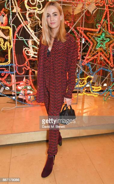 Carmen Jorda attends the Stella McCartney Christmas Lights 2017 party on December 6 2017 in London England