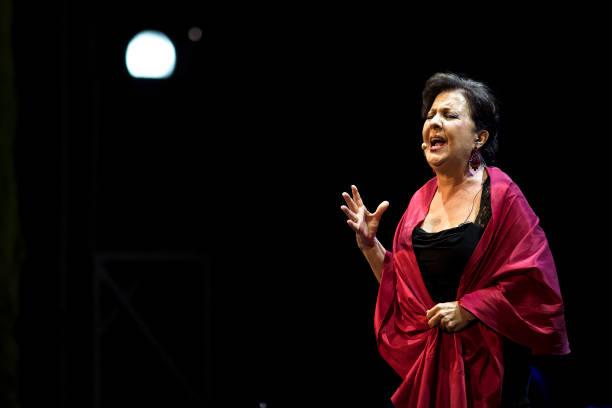 ESP: Carmen Linares, Marina Heredia And Arcangel Concert In Granada