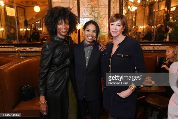 Carmen LoBue Tribeca Festival Co Founder Jane Rosenthal and guest attend as Chanel hosts THROUGH HER LENS 2019 Tribeca Film Festival Women's...