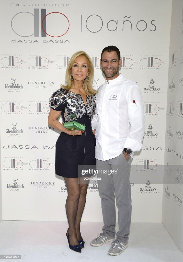 'dASSA bASSA' Restaurant 10th Anniversary in Madrid