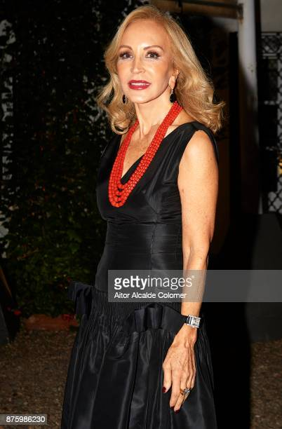 Carmen Lomana attend the SICAB Closing Gala 2017 on November 18 2017 in Seville Spain