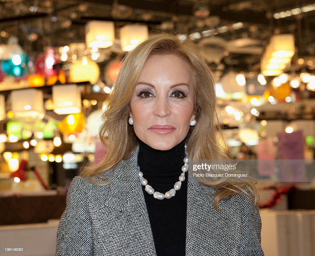 Carmen Lomana Attends a 'Cristalina' Event