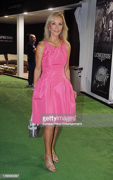 Carmen Lomana attends a Gala Dinner for CSIO Barcelona 100th International Show Jumping Competition at Club de Polo on September 23 2011 in Barcelona...