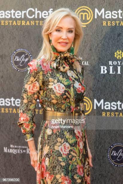 Carmen Lomana attends 'Masterchef' Restaurant Opening on June 4 2018 in Madrid Spain