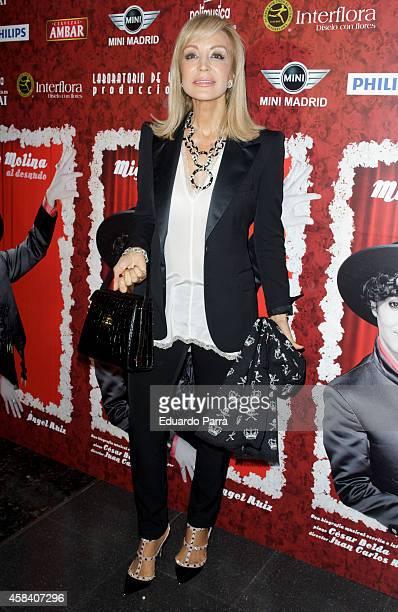 Carmen Lomana Attends Miguel De Molina Al Desnudo Premiere At The
