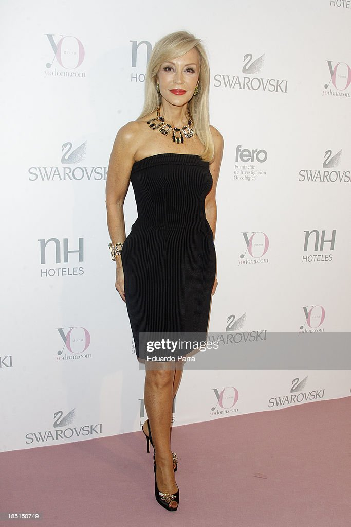 Celebrities Attend 'Pink Hope' in Madrid