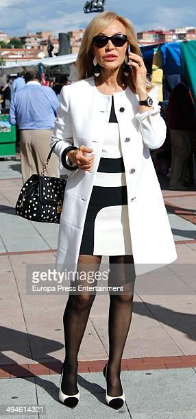 Carmen Lomana attends San Isidro Fair at Las Ventas Bullring on May 29 2014 in Madrid Spain