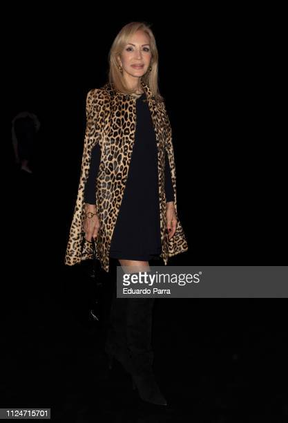 Carmen Lomana attends The 2nd Sking Co fashion show during the Mercedes Benz Fashion Week Autumn/Winter 20192020 at Ifema on January 25 2019 in...