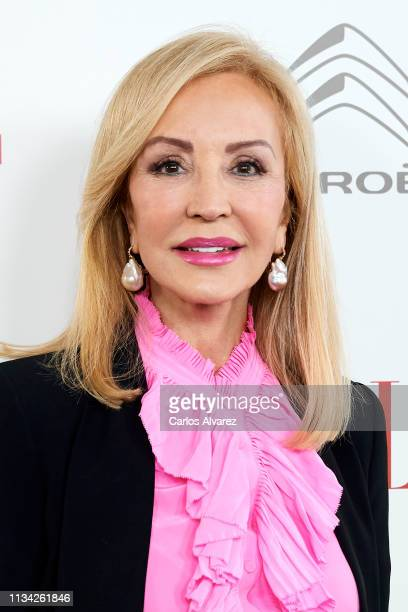 Carmen Lomana attends the 'ELLE' Women's Day at Santo Mauro Hotel on March 07 2019 in Madrid Spain