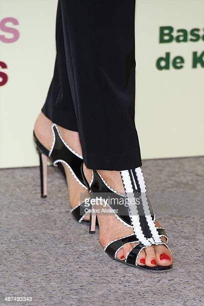Carmen Lomana attends the Los Ojos Amarillos de los cocdrilos premiere at the Academia de Cine on April 30 2014 in Madrid Spain