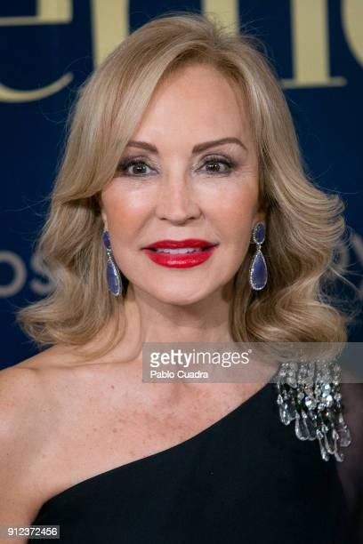 Carmen Lomana attends the 'Mujer hoy awards at 'Casino de Madrid' on January 30 2018 in Madrid Spain