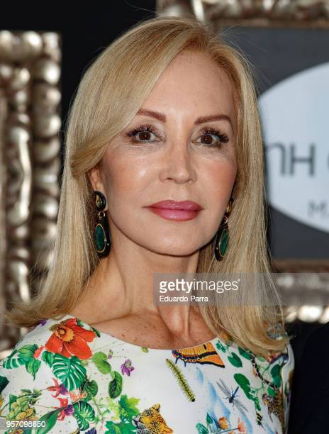 Carmen Lomana attends the 'NH Collection Gran Via hotel' inauguration at NH Collection Gran Via hotel on May 10 2018 in Madrid Spain