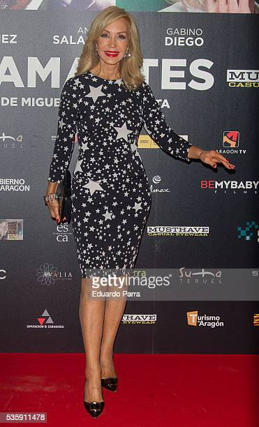 Carmen Lomana attends the 'Nuestros Amantes' premiere at Palafox cinema on May 30 2016 in Madrid Spain