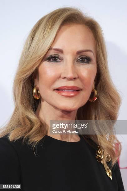 Carmen Lomana attends the 'Telva Beauty' awards 2016 at the Palace Hotel on January 31 2017 in Madrid Spain