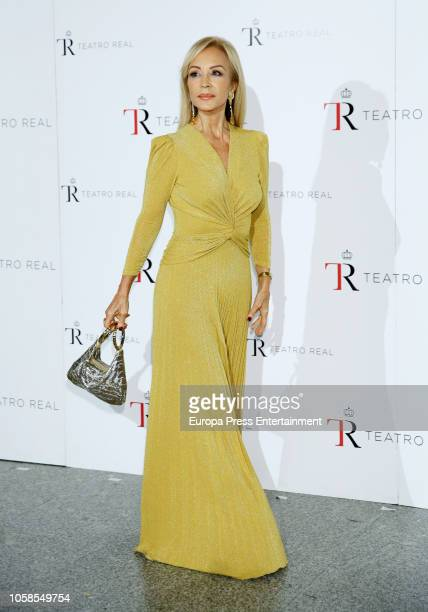 Carmen Lomana attends the 'The Nutcracker' during the Royal Theatre Annual Gala on November 6 2018 in Madrid Spain