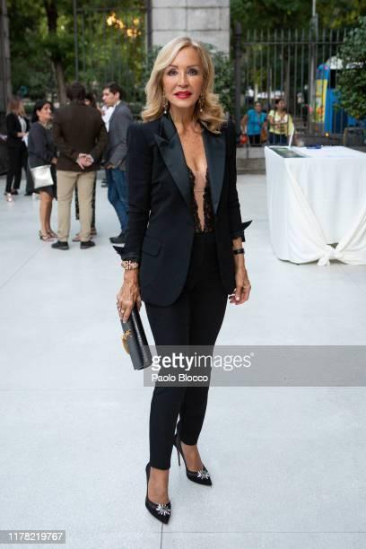Carmen Lomana attends 'Thyssen Collection' cocktail presentation at ThyssenBornemisza on September 30 2019 in Madrid Spain