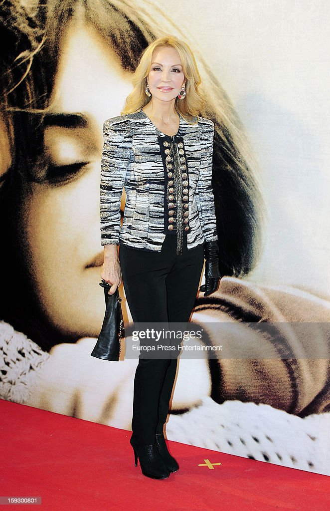 Carmen Lomana attends 'Venuto Al Mondo' premierte at Capitol Cinema on January 10, 2013 in Madrid, Spain.
