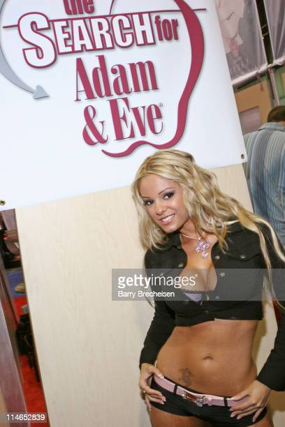 Carmen Luvana host of Adam Eve's RealityX during 2005 AVN Adult Entertainment Expo at Sand Expo Center in Las Vegas Nevada United States