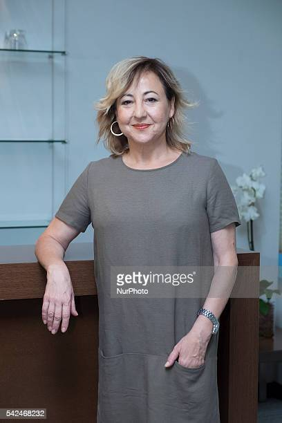 Carmen Machi attend the 'Villaviciosa De Al lado' photocall at Warner Bros office on June 23 2016 in Madrid Spain Photo Oscar Gonzalez/NurPhoto
