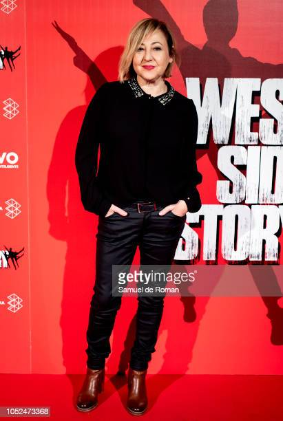 Carmen Machi attends during West Side Story Premiere in Madrid on October 18 2018 in Madrid Spain