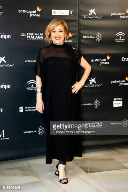 Carmen Machi attends Opening Day Red Carpet Malaga Film Festival 2018 on April 13 2018 in Malaga Spain