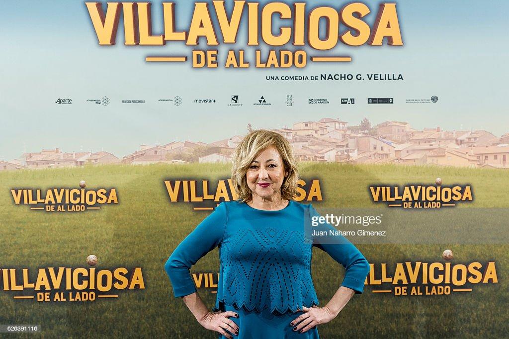Carmen Machi attends 'Villaviciosa de al Lado' photocall at Palacio de los Duques Hotel on November 29, 2016 in Madrid, Spain.