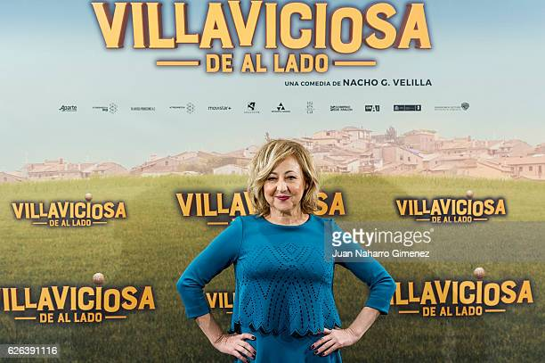 Carmen Machi attends 'Villaviciosa de al Lado' photocall at Palacio de los Duques Hotel on November 29 2016 in Madrid Spain