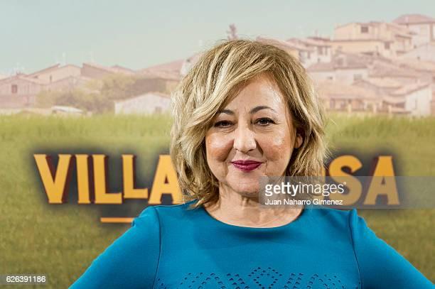 Carmen Machi attends 'Villaviciosa de al Lado' photocall at Palacio de los Duques Hotel on November 29 2016 in Madrid Spain