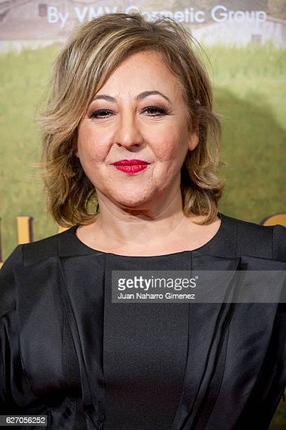 Carmen Machi attends 'Villaviciosa De Al Lado' premiere at Capitol Cinema on December 1 2016 in Madrid Spain