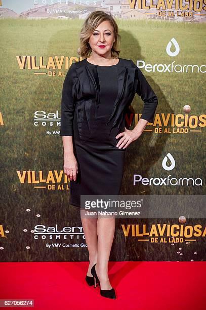 Carmen Machi attends 'Villaviciosa De Al Lado' premiere at Capitol Cinema on December 1 2016 in Madrid Spain