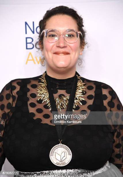 Carmen Maria Machado attends the 68th National Book Awards at Cipriani Wall Street on November 15 2017 in New York City