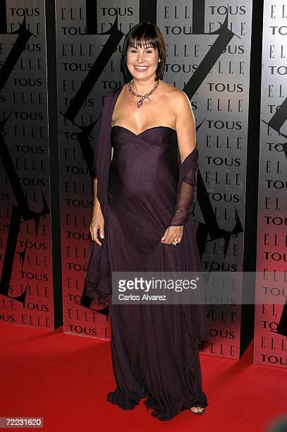 Carmen Martinez Bordiu attends ELLE Magazine XX Anniversary Party on October 20 2006 at Palau de las Arts in Valencia Spain