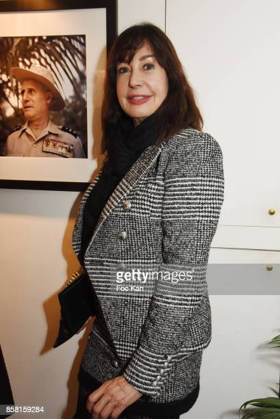 Carmen Martinez Bordiu attends 'La Guerre D'Indochine' By Willy Rizzo Press Preview at Studio Willy Rizzo In Paris on October 5 2017 in Paris France