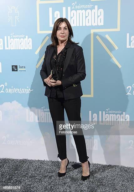 Carmen Martinez Bordiu attends 'La Llamada' premiere at the Lara Theater on April 15 2015 in Madrid Spain