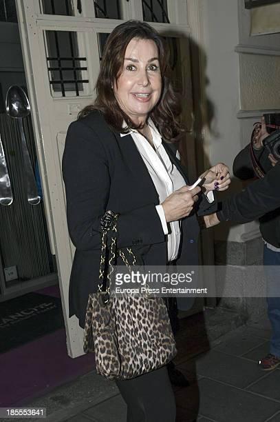 Carmen Martinez Bordiu attends Margarita Vargas' 30th birthday party on October 21 2013 in Madrid Spain
