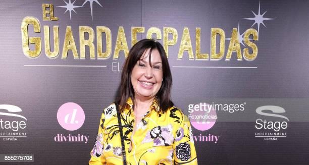 Carmen Martinez Bordiu attends the 'El Guardaespaldas' musical premiere at the Coliseum Theater on September 28 2017 in Madrid Spain