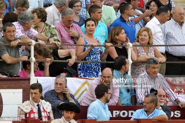 Carmen Martinez Bordiu attends the Malagueta bullring on August 17, 2012 in Malaga, Spain.