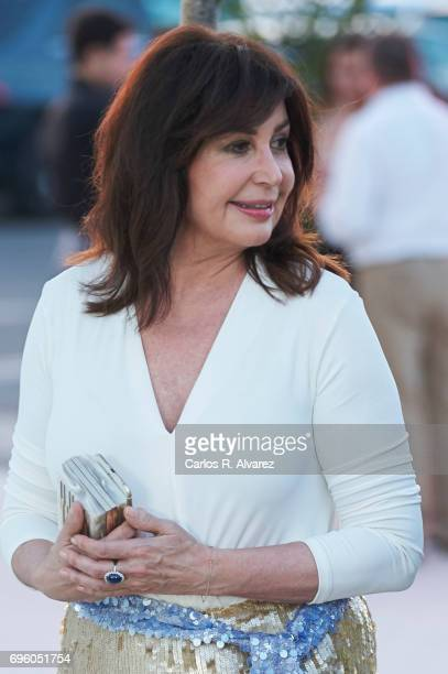 Carmen Martinez Bordiu attends the opening of the new Porcelanosa store on June 14 2017 in San Sebastian de los Reyes Spain