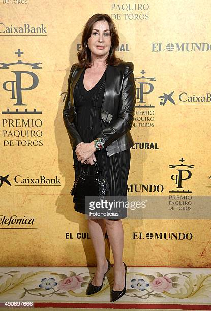 Carmen Martinez Bordiu attends the 'Paquiro' Bullfight Award Ceremony at The Ritz Hotel on October 1 2015 in Madrid Spain