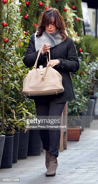 Carmen Martinez Bordiu is seen on December 11 2013 in Madrid Spain
