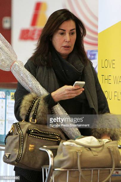Carmen Martinez Bordiu is seen on March 5 2013 in Santander Spain