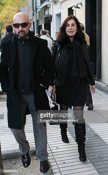 Carmen Martinez Bordiu is seen on November 22 2012 in Madrid Spain