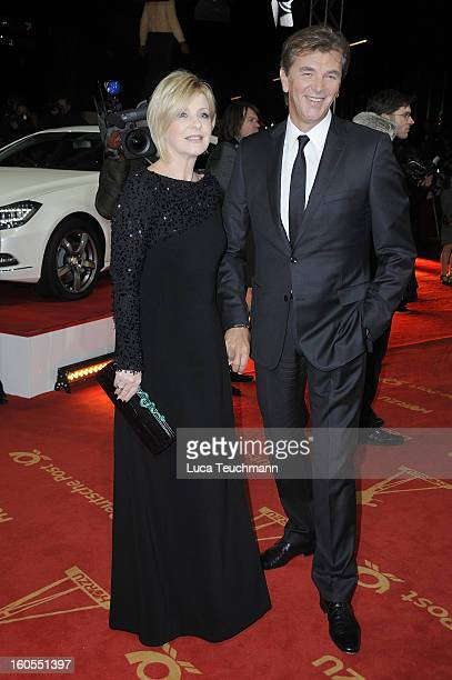 Carmen Nebel and Norbert Endlich attend the 48th Golden Camera Awards at the Axel Springer Haus on February 2 2013 in Berlin Germany