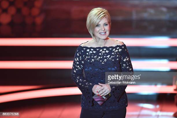 Carmen Nebel at the tv show 'Heiligabend mit Carmen Nebel' on November 29 2017 in Munich Germany The show will be aired on December 24 2017