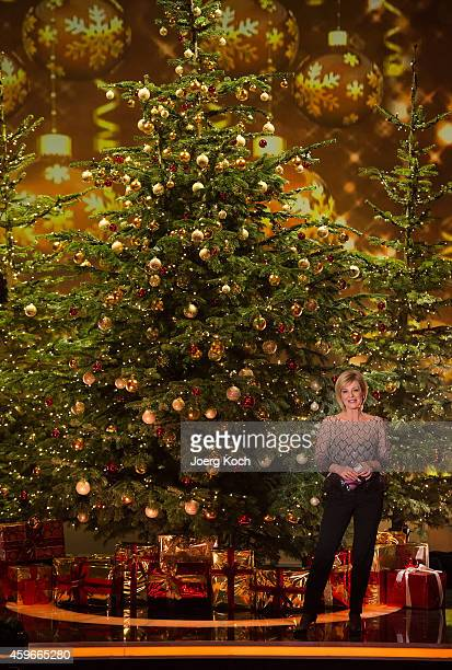 Carmen Nebel attends the taping of the TV show 'Heiligabend mit Carmen Nebel' on November 27 2014 in Munich Germany