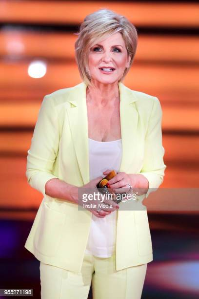 Carmen Nebel during the tv show 'Willkommen bei Carmen Nebel' at SachsenArena on May 5 2018 in Riesa Germany